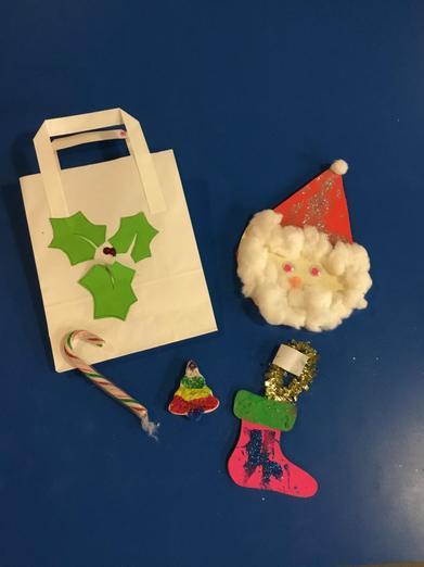 Sneak peek at some Christmas crafts