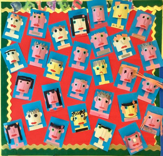 3D Faces - we designed our own.