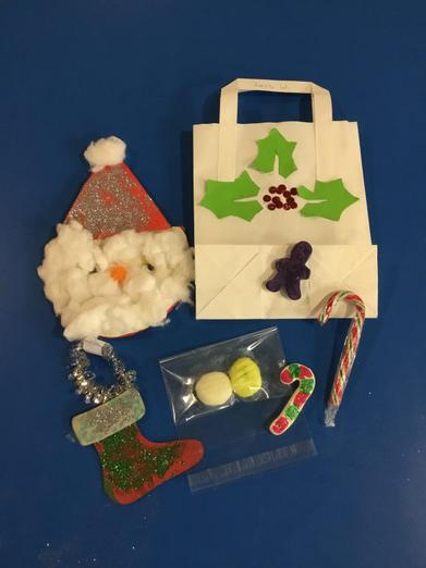 Sneak peeks at our Christmas crafts