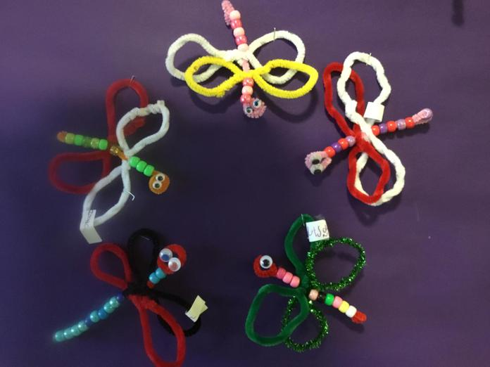 We made Dragonflies !!!