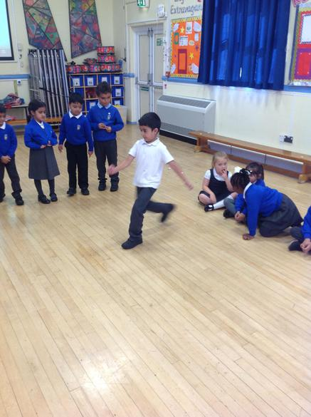 We used actions to demonstrate our likes.
