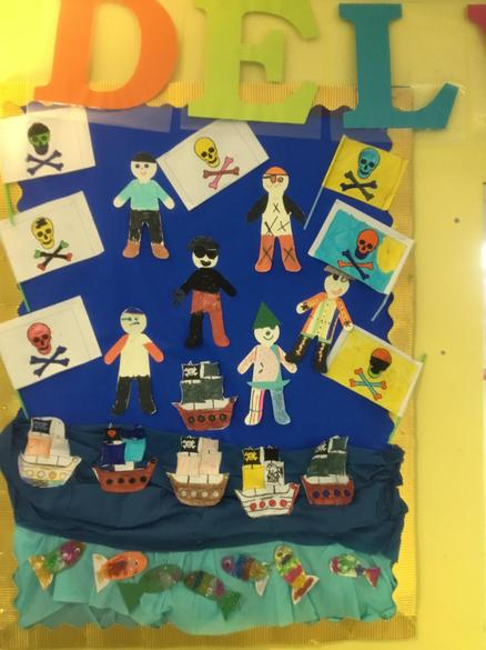Swashbuckling fun designing pirates, ships & fish