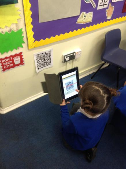 Learning how to scan a QR code