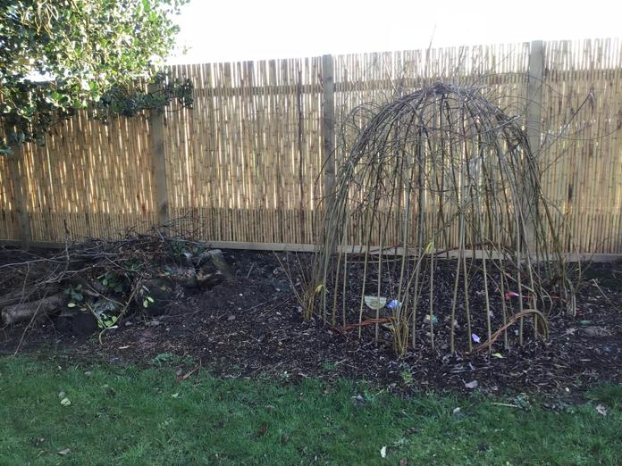 EYFS Wicker Shelter