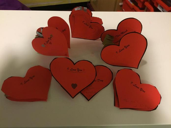 Hearts for Valentines Day