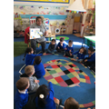We enjoyed the story Mr Wolfs Pancakes!