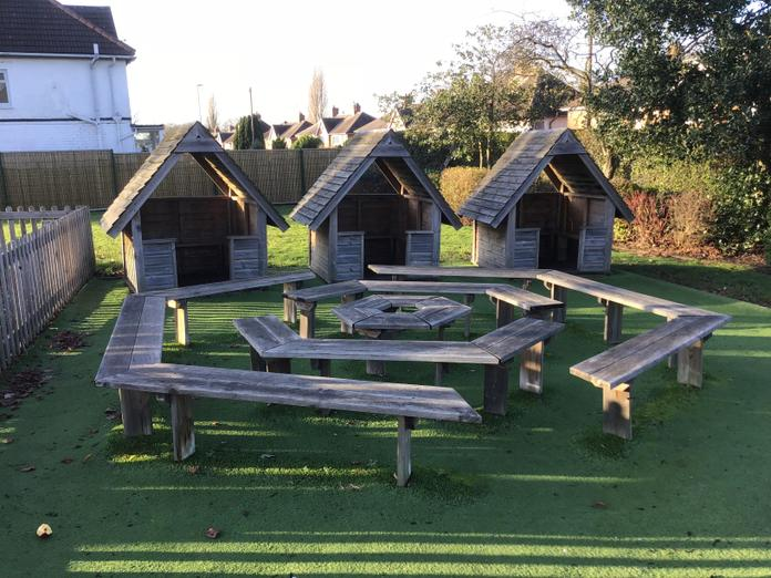 Playground Huts