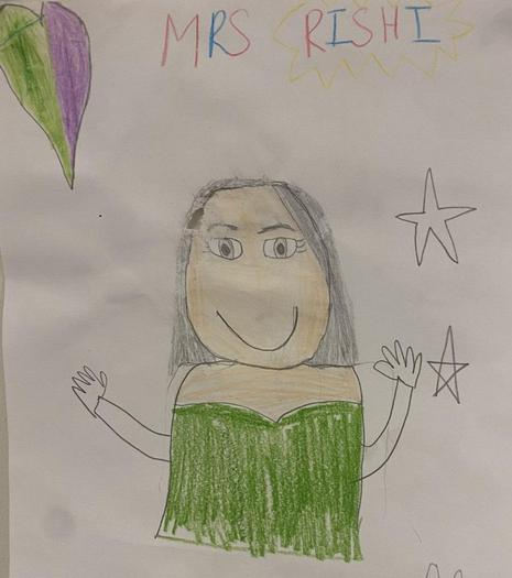 Mrs Rishi Red 1 Teacher