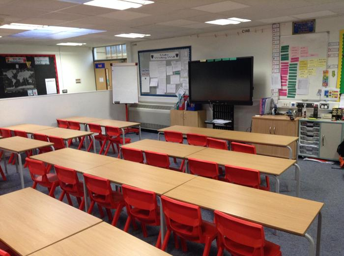 Red 3 classroom