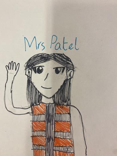 Mrs Patel Lunchtime Supervisor