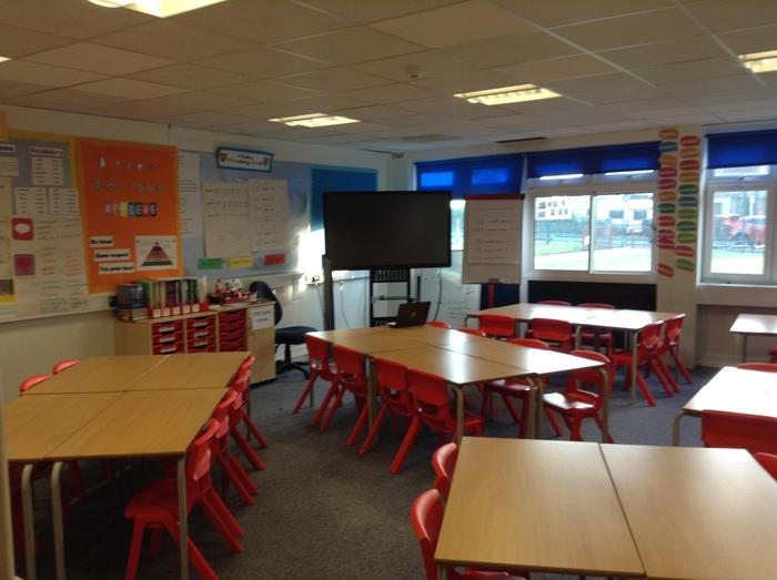 Red 1 classroom