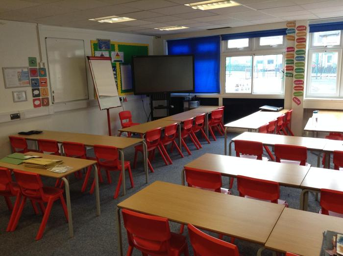 Red 2 classroom