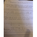 Addition using a number line.