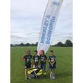 Y4 School Games Tennis Team, Jul 2015