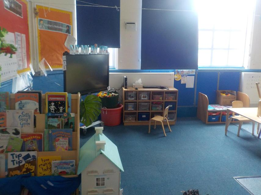 Reception Classroom - September 2020