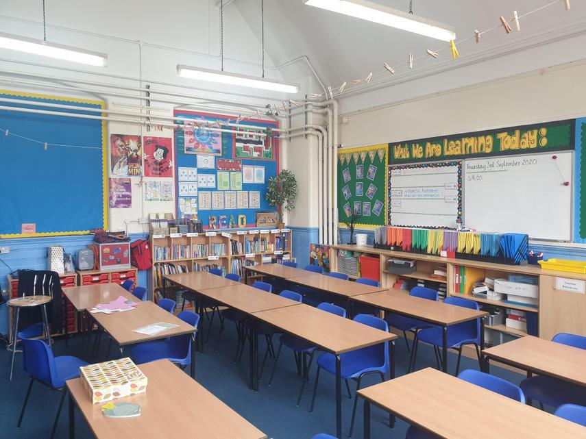 Year 6 Classroom - September 2020