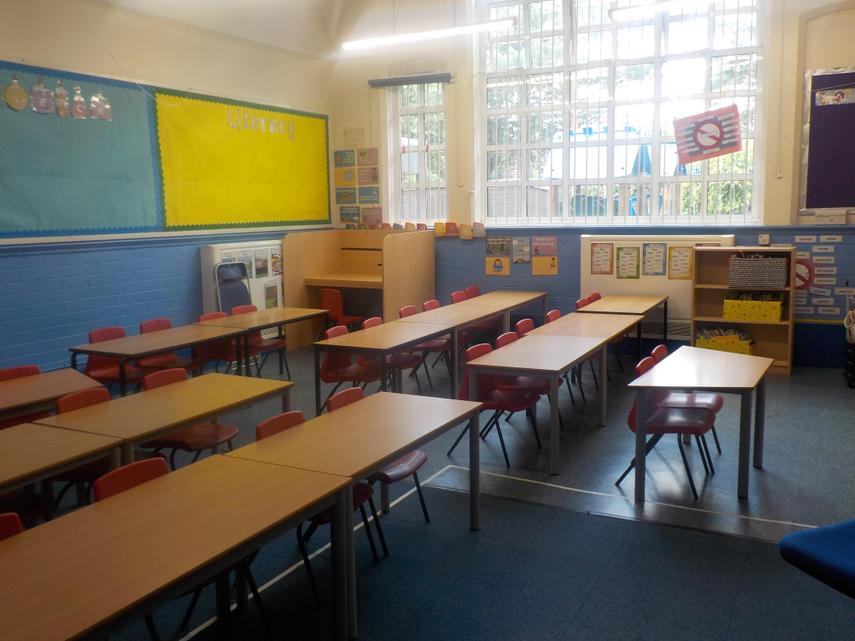 Year 2 Classroom - September 2020