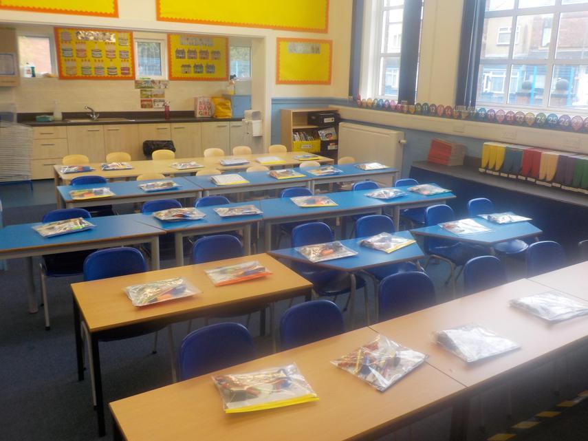 Year 1 Classroom - September 2020