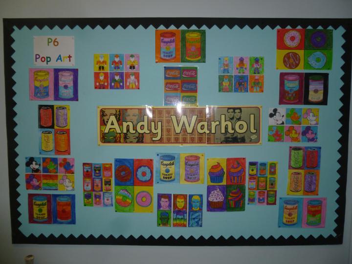 Andy Warhol Pop Art designs