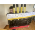 Amazing work at creating your own Titanic themed costume Henry!