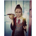 Lily as Hermione Granger