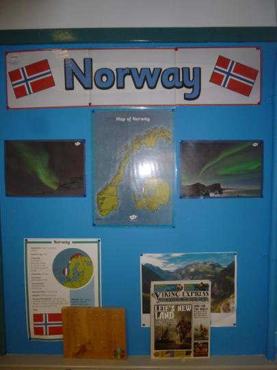 Norway / Viking information board