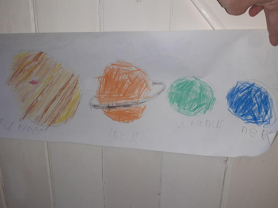 Harry's research about the planets 2
