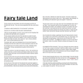 Lily- 2H- The Tunnel inspired Fairy Tale Land