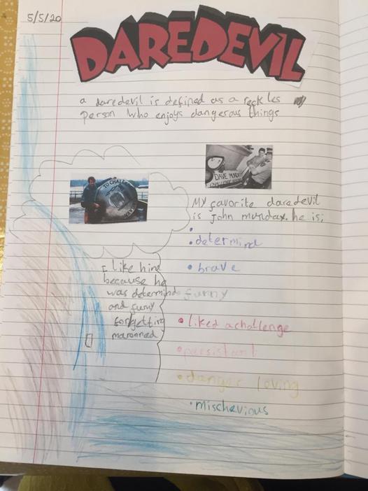 Fantastic work on daredevils by Sirus