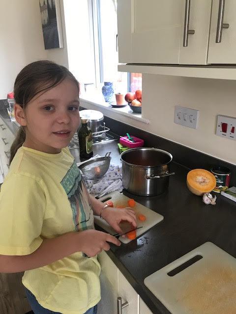 Learning chopping skills