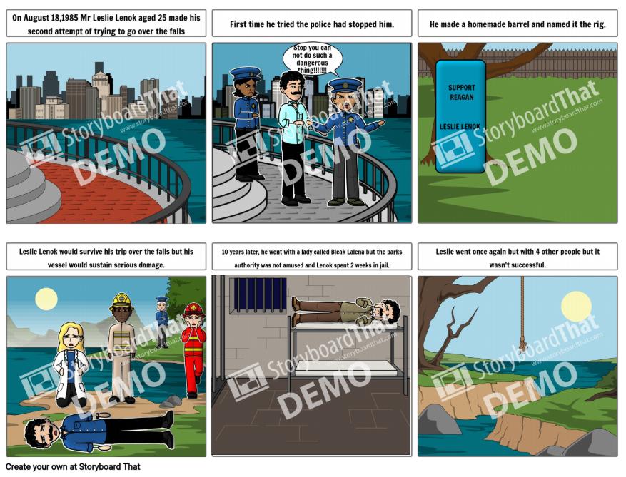Ugne's Daredevil Storyboard
