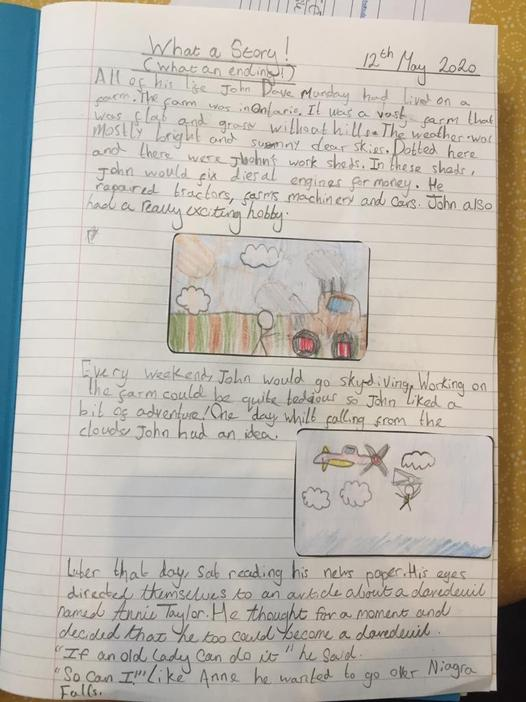 Sirus wrote a fantastic story about his daredevil