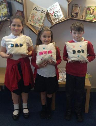 Year 3 Mothers Day Cushions