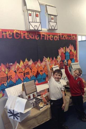 Year 2 Great Fire of London Project