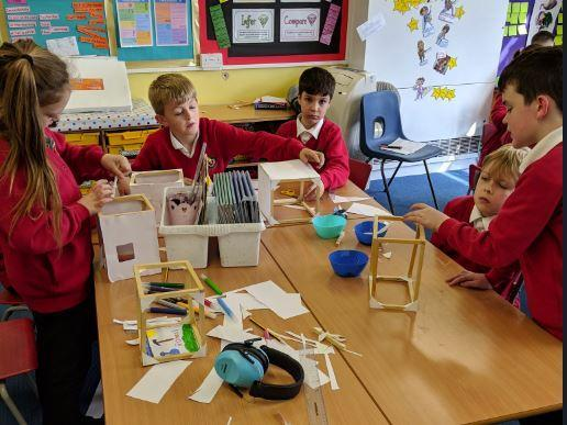 Year 4 Making Roman Houses