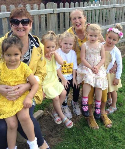 Wear yellow for Cystic Fibrosis Day
