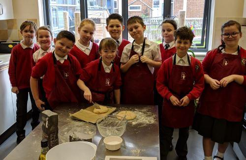 Year 4 Making Roman Bread