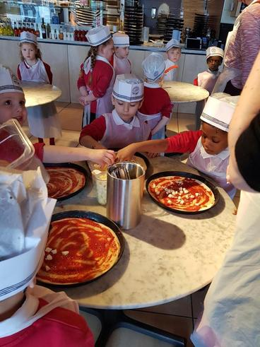 Reception Trip to Pizza Express