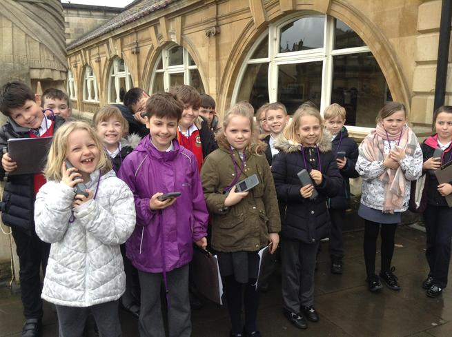 Year 4 Trip to the Roman Baths, Bath