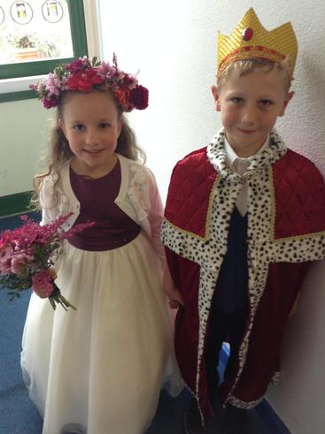 May Day King and Queen