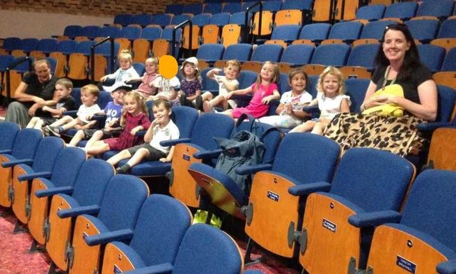 Nursery Trip to see 'The Very Hungry Caterpillar'