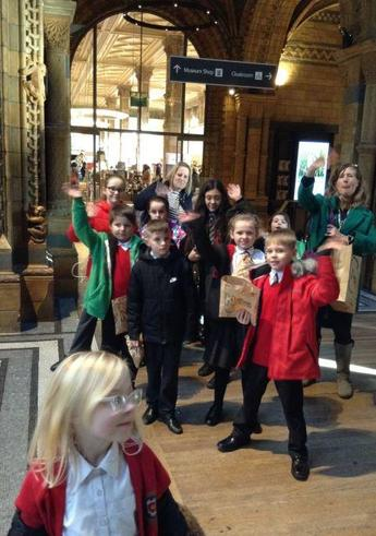 Pupil Parliament Trip to Natural History Museum