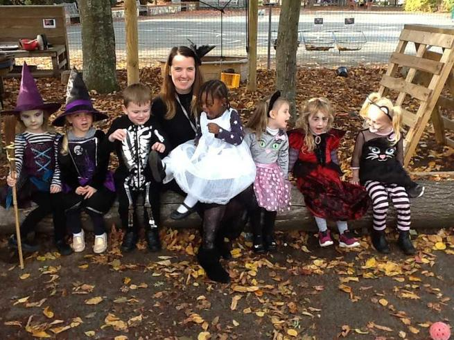 Nursery Halloween Party