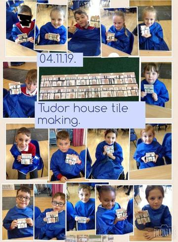 Year 4 Tile Making