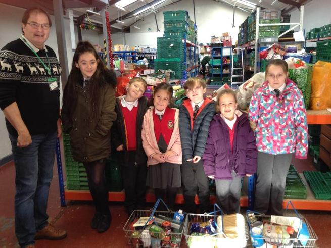 Pupil Parliament @ the Foodbank