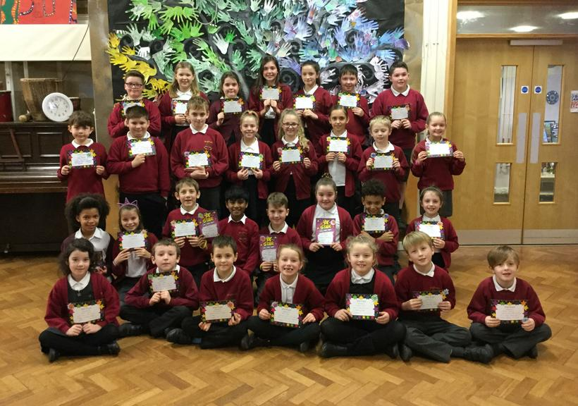 Congratulations to all our merit winners