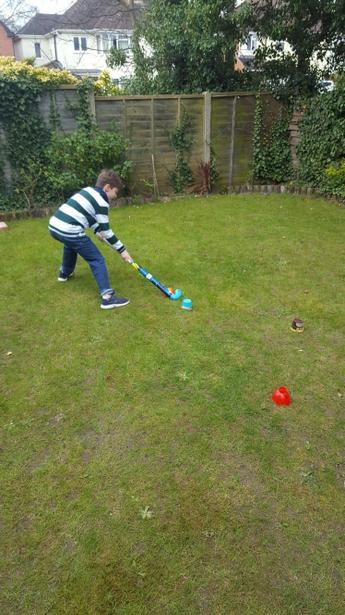 Keeping up the hockey skills