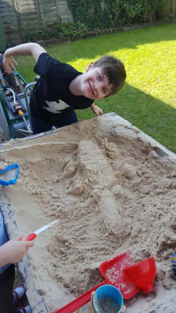 Sand modelling