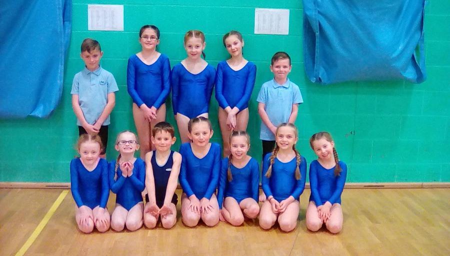 Dingle 2019 Gymnastic squad