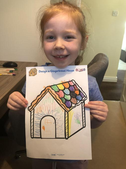 My Gingerbread House Design - Lily